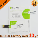 Movimentação feita sob encomenda quente do flash do USB do cartão de crédito do logotipo (YT-3101L)