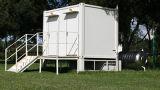 20 pies prefabricaron el envase sanitario modular para el uso del tocador público