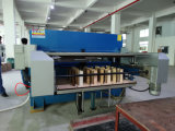 Hg-B100t Automatic Hydraulic Plastic Packaging Cutting und Stacking Machine