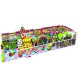 Equipo de interior plástico del patio de la diversión de los niños del tema del caramelo