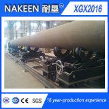 Línea cortadora de la intersección del cartabón del tubo del CNC