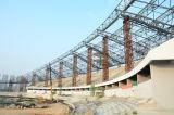Corte della costruzione d'acciaio/struttura d'acciaio/stadi