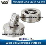 Válvula de verificación del acero inoxidable H71W