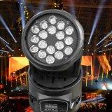 Bewegliches Hauptlicht LED-18X3w RGB (GA-LM01803)