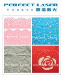 Cortadora del laser del paño de la tela de materia textil