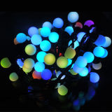 Wasserdichte LED Christmas Ball String Light mit 17mm Bulb Size