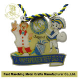 La médaille imprimée d'acier inoxydable, coutume folâtre la médaille