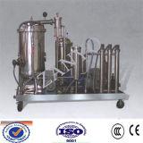 Máquina inútil de la filtración del aceite de cocina del acero inoxidable (ZYC)