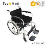 Do preço barato médico do produto de Topmedi cadeira de rodas manual de alumínio