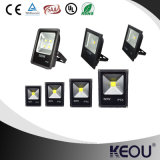 Color negro de Proyector LED COB/SMD 10W 20W 30W 50W 100W