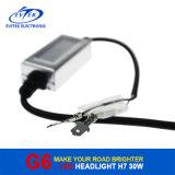 Nuovi prodotti caldi per 2016 il faro dell'automobile LED di alto potere H7 di 30W 3200lm; Faro del motociclo del LED