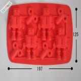 Изготовленный на заказ поднос кубика льда силикона с прессформой крышки