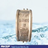 알루미늄 또는 Bronze Dual Plate Wafer/Two Door Check Valve