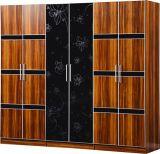 現代家具は6つのドアのワードローブをセットする