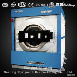セリウムのMachinetiltingの洗濯機の抽出器を洗浄する公認120kg蒸気暖房の洗濯
