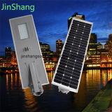 2016 neuer Entwurf alle in einem 50With60W LED Solarstraßenlaternemit Batterie-Sonnenkollektor (JINSHANG SOLAR)