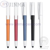 Le crayon lecteur de bille en plastique de cadeaux de promotion Jm-6019 avec un contact d'aiguille