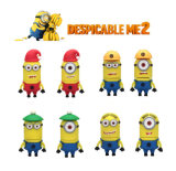 Despicable Me Cute Minions PVC / borracha USB 1GB-64GB