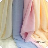 подкладка ткани полиэфира 100d шифоновая/ткань/Georgette платья женщин/для одежды/маск и шарфа (RHFZ-0816)