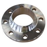 Brides de pipe d'acier du carbone de cou de soudure de la norme ANSI B16.5 150lbs