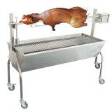 Máquina inoxidável ao ar livre do BBQ do assado da grade do aço gusa