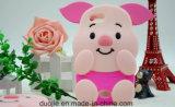 la historieta del cerdo 3D Anti-Rasguña la caja del silicón para los accesorios del teléfono móvil 6s/7plus del iPhone (XSDW-002)