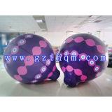 De de opblaasbare Drijvende Reclame van de Ballon van de Kubus/Ballon van de Hemel van het Helium