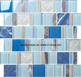 2016 Gunst blauwe Glass Mosaic met 8mm Thickness (MGB006)