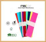 50*250cm DIY Handmade 색깔 크레이프지, 다채로운 크레이프지 꽃, 크레이프지 공장 가격