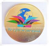 Gegoten de Matrijs van het zink & de Gouden Unilaterale Medaille van het Plateren