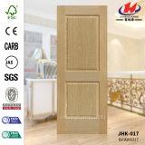HDF MDFの木製の灰のベニヤ型のドアの皮