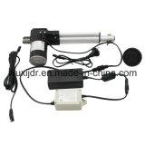 Motor elétrico e para baixo atuador do sistema para a cadeira e as bases