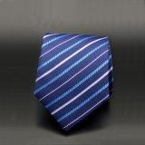 Gravatas de tecido micro jacquard, Gravata clássica de homens (A276)
