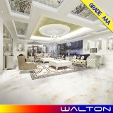 Azulejo de suelo Polished esmaltado diseño de mármol de la porcelana para la sala de estar (WR-LT8Y020A)