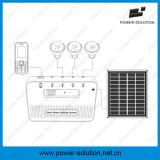 Верхняя продавая портативная домашняя солнечная система с батареей Лити-Иона панель солнечных батарей 4 ватт