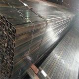 Pipa de acero recocida negra cuadrada