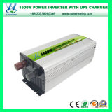 Inversor usado hogar del cargador de la UPS 1500W con el indicador digital (QW-M1500UPS)
