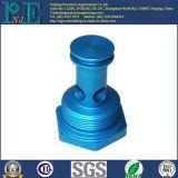 Aangepast Staal CNC die de Blauwe Delen van de Deklaag van het Zink machinaal bewerkt