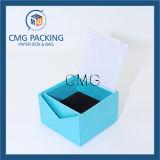 Boîte de bijoux claire élégante de papier fait main (CMG-PJB-034)