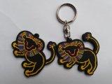 3D pvc van uitstekende kwaliteit Keychain van Plastic Promotional Gift (kc-028)