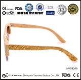 CNC de madeira brandnew dos óculos de sol da meia borda
