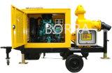 Bomba de água de secagem móvel do motor Diesel