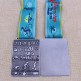 Custom Metal Karate / Running / Coin / Medallion / Gold / Silver / Bronze / Émail / Marathon / Badge / Médaille sportive avec ruban