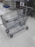 Chariot normal américain Yd-001 à achats de supermarché
