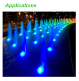 diodo emissor de luz Light Landscape Fountain Pond Lamp de 9W 12V Underwater