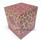 Cadre de empaquetage cosmétique de papier avec l'impression contrecarrée d'or
