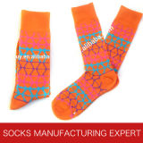 Kleid-Muster-Socken der Männer