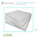 Lanas de cristal blancas respetuosas del medio ambiente de la manta de las lanas de cristal del aislante de la fibra de vidrio