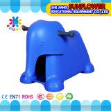 Auto van het Stuk speelgoed van jonge geitjes de Plastic, het Rek van het Speelgoed van de Modellering van de Olifant