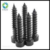 黒い酸化物の炭素鋼の十六進ソケットヘッドセルフ・タッピング木製ねじ